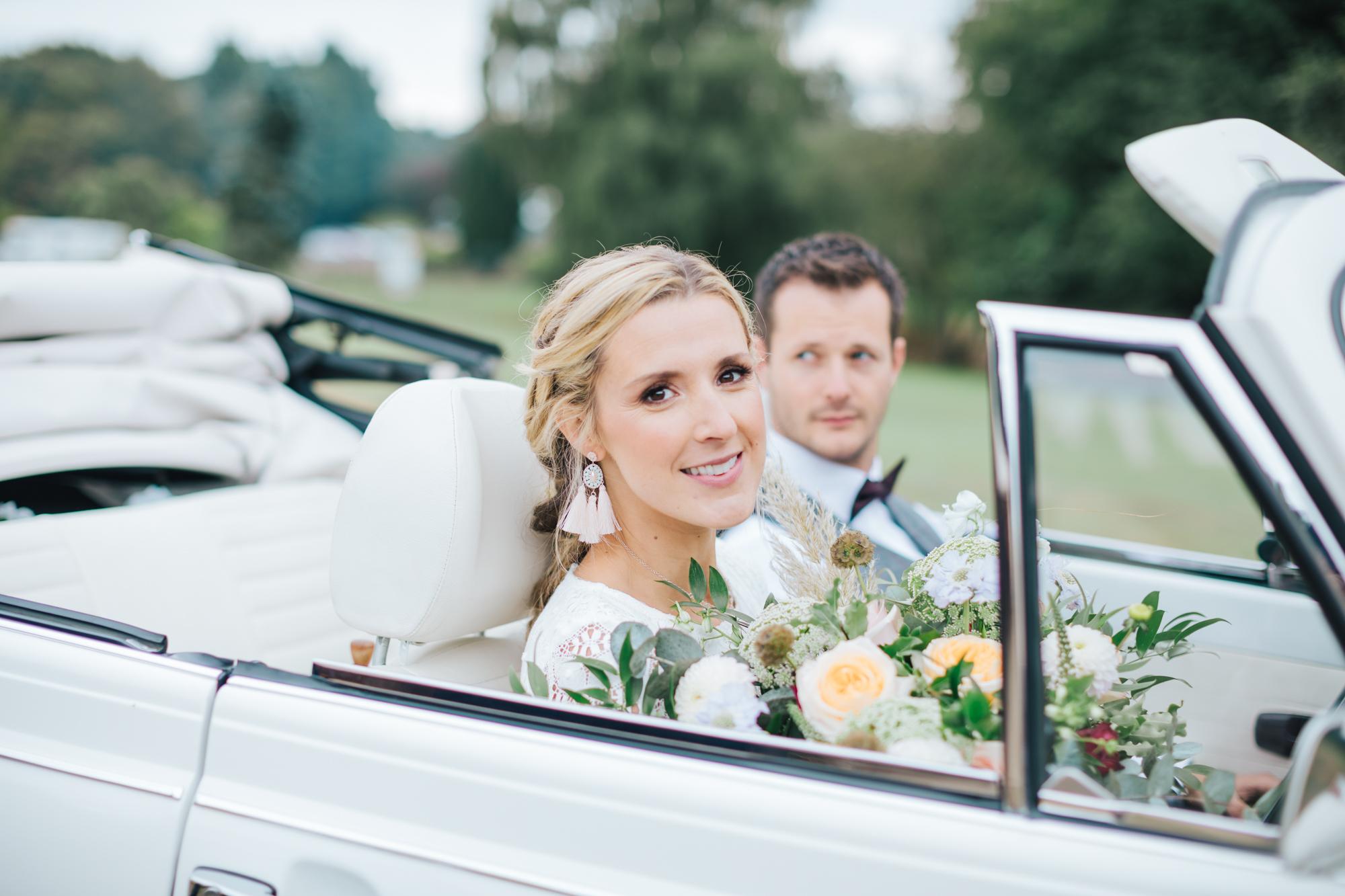 Triple White Weddings -