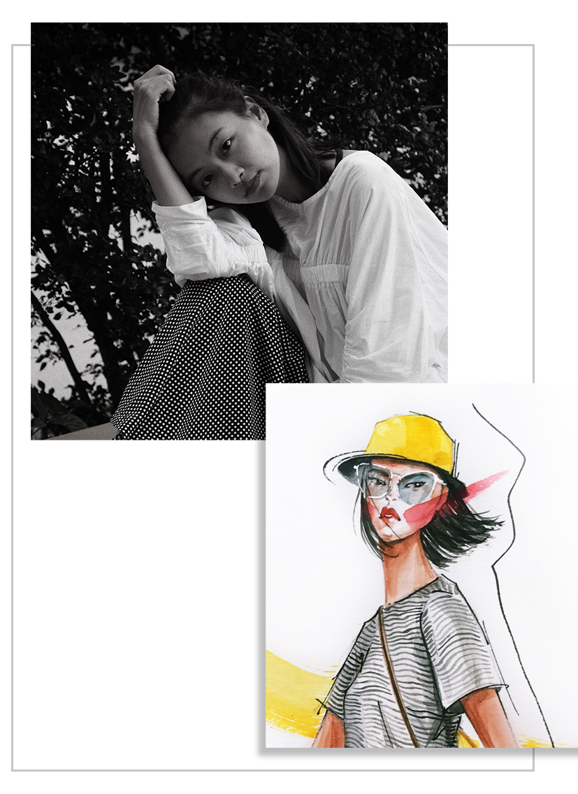 About Kiquy Pham - Hi guys! Welcome to my website.I am a fashion illustrator in Ho Chi Minh City, Vietnam. Kiquy is derived from Kim Quyen, which is my first name.After graduation from fashion design school, I had worked various jobs in fashion industry and found my passion in fashion illustration. I officially pursued my illustrator career in 2015. My favorite medium is watercolor and gouache.I love to see my ideas coming alive on sketchbook. Drawing fashion is a way for me to express myself. Through illustration, I want to depict alluring women who are empowered, mysteriously beautiful and driven by her dreams and values.Besides fashion as my main career focus, I am also interested in food illustration and often do it as hobby.I have done commissions and live sketch events for clients such as PRADA, VIFTOR&ROLF, SEBASTIAN GUNAWAN, WAREHOUSE, BUIROSS, MUJOSH, CHARLES&KEITH,...I'm currently brand ambassador for Hewlett-Packard (HP).For all inquiries please contact meI'm looking forward to working with you!