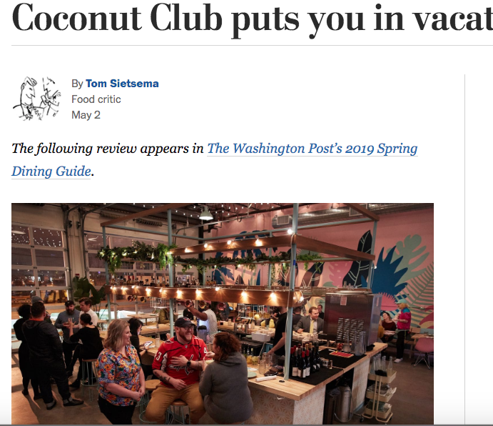 Tom Sietsema, Washington Post