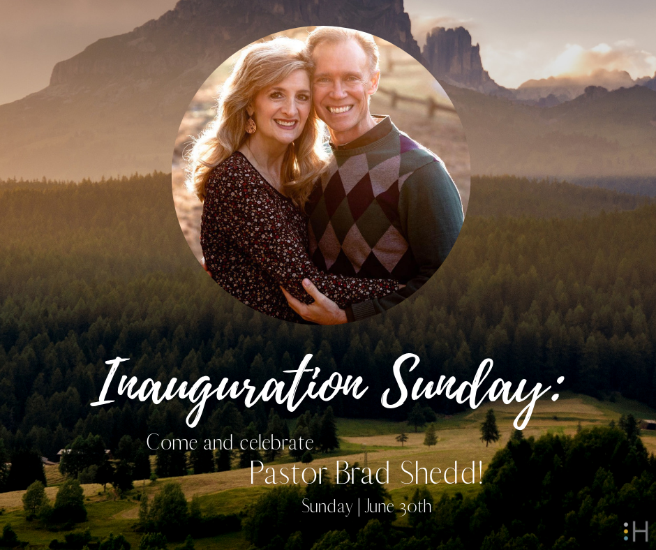 - On Sunday, June 30th, we will be inaugurating Pastor Brad Shedd into his new position as Associate Pastor.Pastor Brad has been a part of Harvest for for 22 years and we are blessed to have him come on staff!