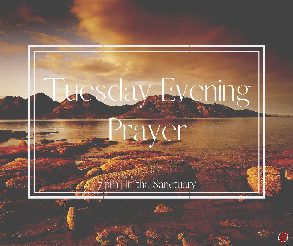 - Prayer unifies believers in a church and brings forth common vision and purpose.Let us prophetically and passionately pray down God's kingdom (Matt 6:10) over our families, our church, our city, our region, our state and our nation. As we come into agreement with what God is doing, we will be partakers of the harvest God has already spoken over our church!You are invited to join us in prayer on Tuesday evenings at 7:00 pm in the Main Sanctuary.