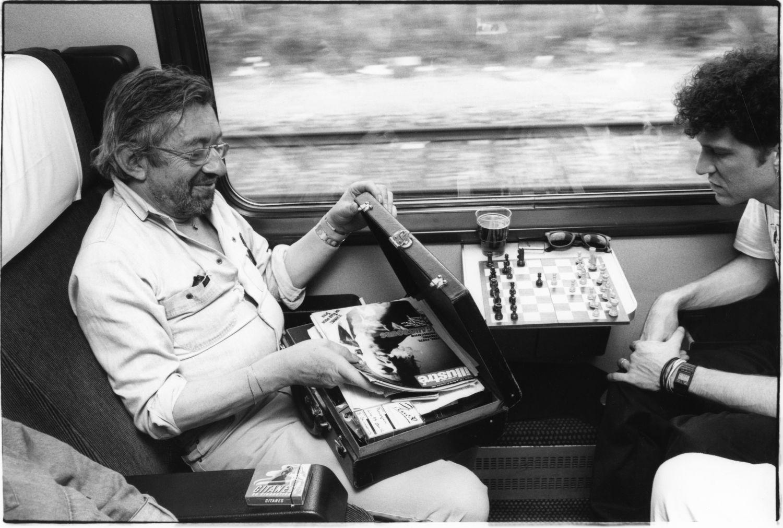 Serge Gainsbourg - 1988 | Photo sandrine cohen