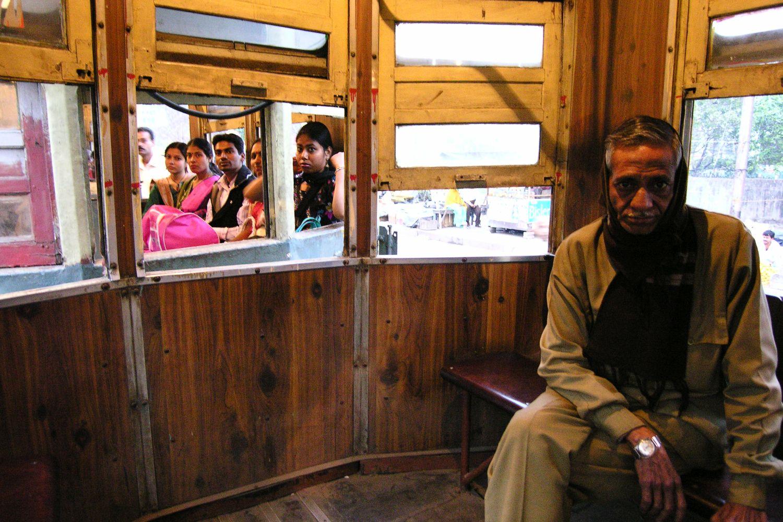 Kolkata - Calcutta   Tramway Calcutta   ©sandrine cohen