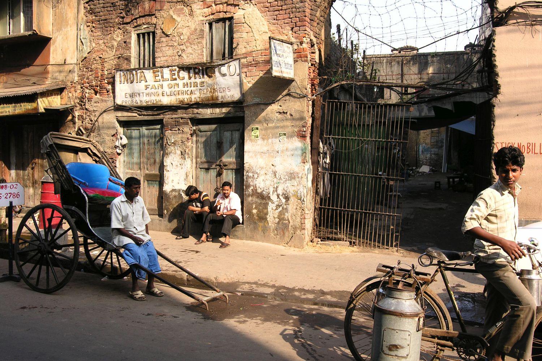 Kolkata - Calcutta   Indian electric in Kolkata   rickshaw     ©sandrine cohen