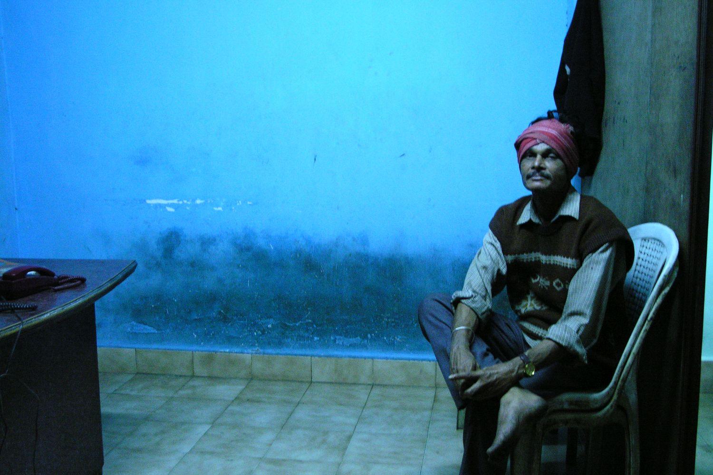 Kolkata - Calcutta   Indian blue men   ©sandrine cohen