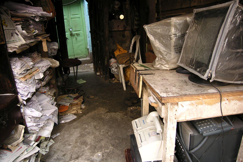 Kolkata - Calcutta   Old computers   ©sandrine cohen