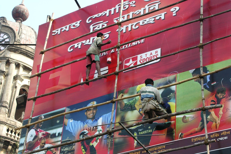 Kolkata - Calcutta   Cricket stars   Ganguly  Indian painters   ©sandrine cohen