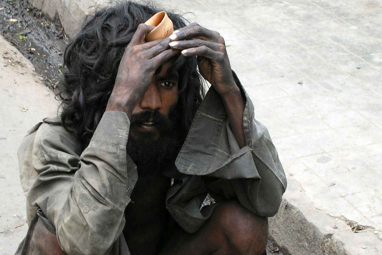 Kolkata - Calcutta   Homeless naked   ©sandrine cohen