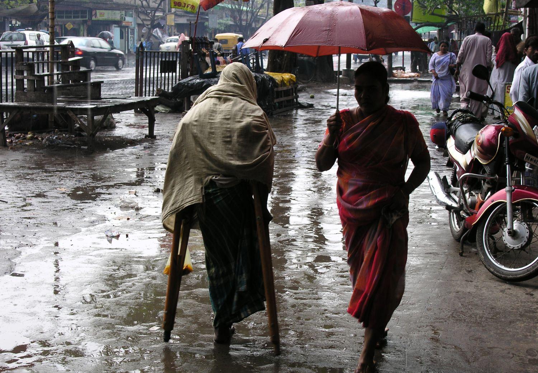 Kolkata - Calcutta   Rain on Calcutta   streetphotography  ©sandrine cohen