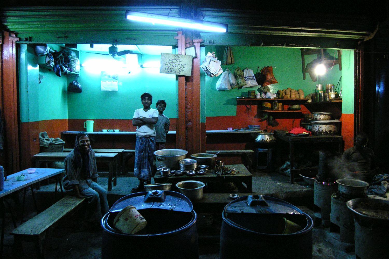 Kolkata - Calcutta   Indian restaurant   Street food   ©sandrine cohen