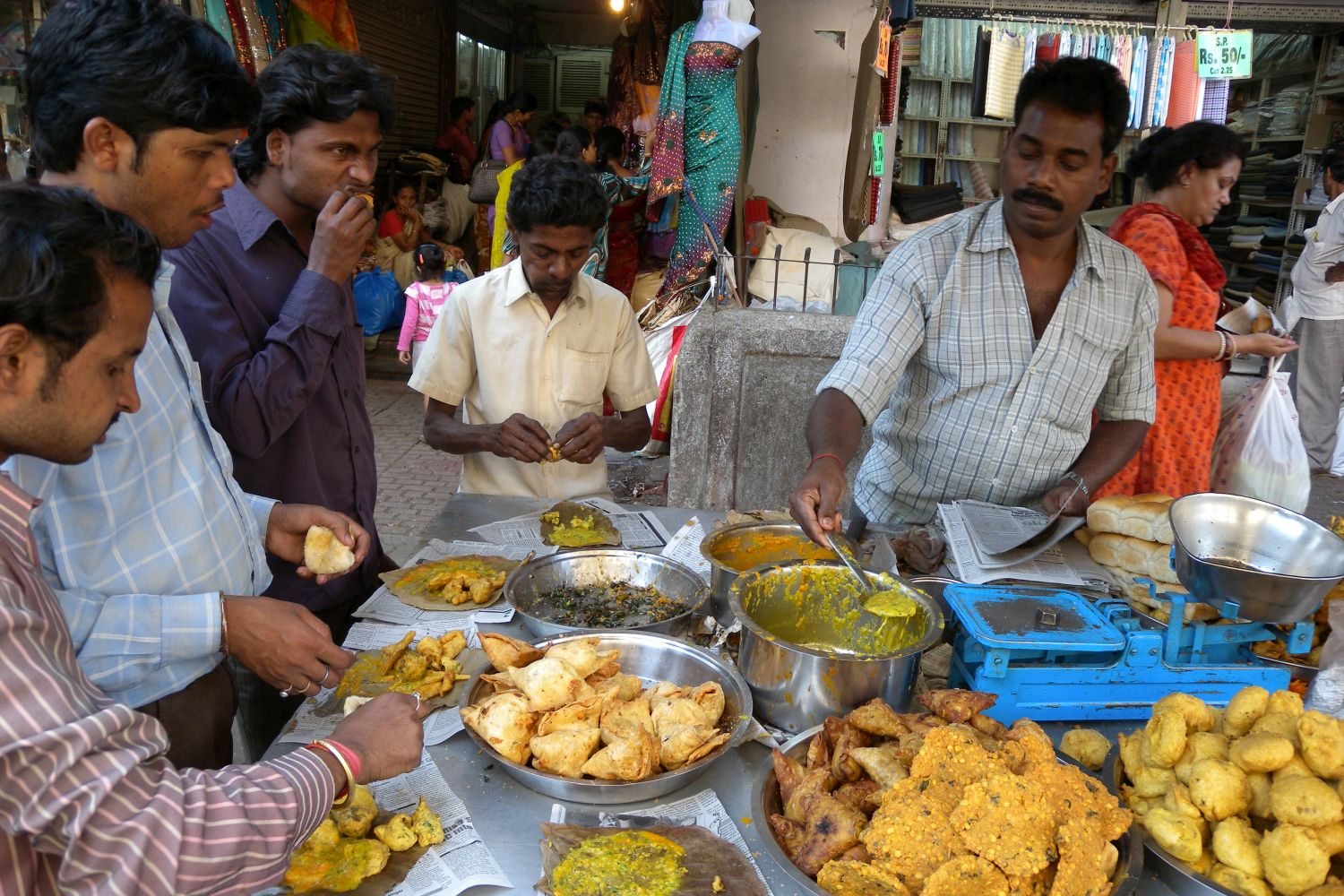 Mumbai - Bombay | Indian street food | India is the country of the street food | ©sandrine cohen