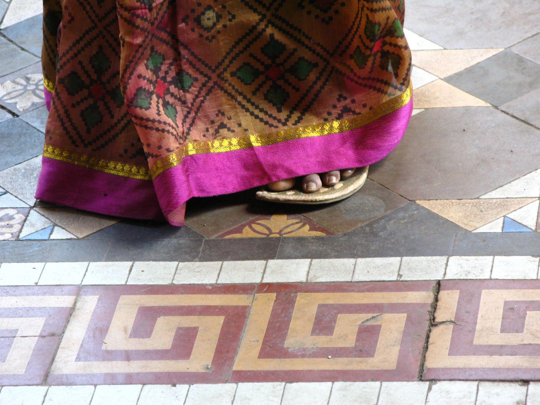 Mumbai - Bombay | Mumbaikar woman dress and foot | ©sandrine cohen