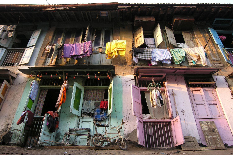 Mumbai - Bombay | Indian house | Old building in Mumbai | Kalbadevi | ©sandrine cohen