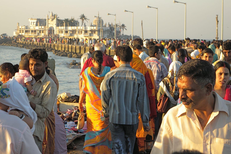 Mumbai - Bombay | Muslim bombaikars | Haji Ali mosque | ©sandrine cohen