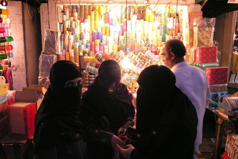 Mumbai – Bombay | Indian muslim women | Bhendi bazar | ©sandrine cohen