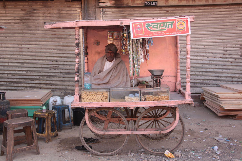 Jaipur | Rajasthan | Pink city | Indian shop | Pink shop | ©sandrine cohen