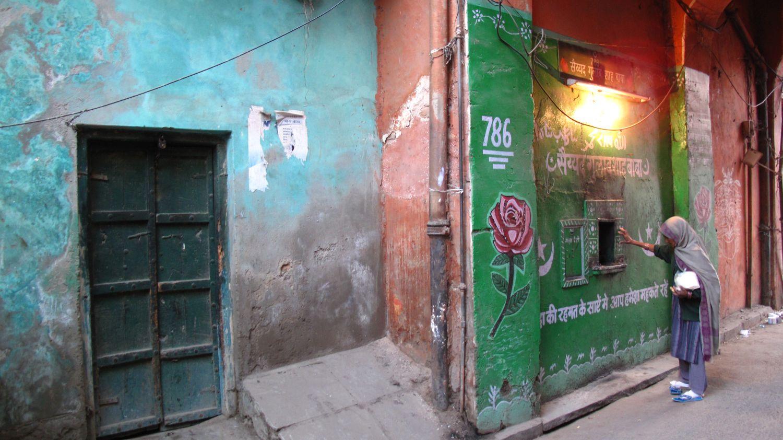 Jaipur | Rajasthan | Pink city | Water supply | street art Jaipur | ©sandrine cohen