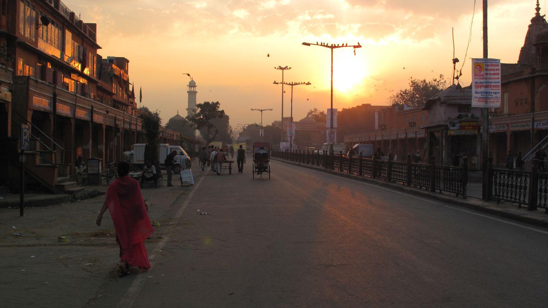 Jaipur | Rajasthan | Pink city | Sunset on Jaipur | ©sandrine cohen