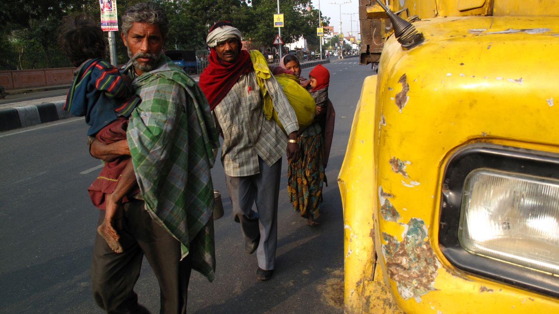 Jaipur | Rajasthan | Pink city | Migrants | ©sandrine cohen