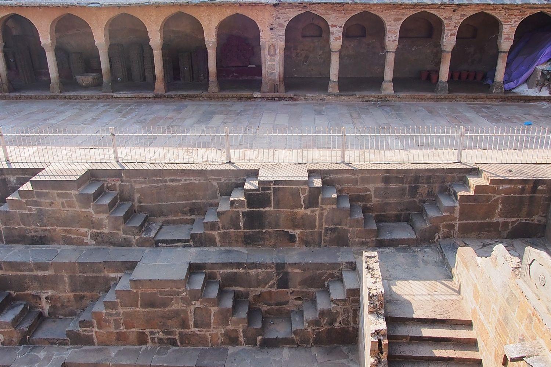 Abaneri | Baori Abhaneri | Arcades and stairs | Rajasthan | Chand Bawri, Step Well Abhaneri | ©sandrine cohen