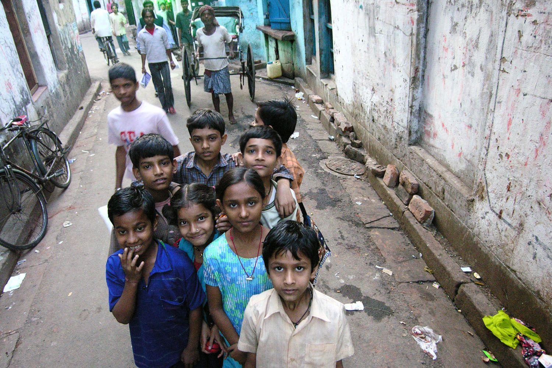 Kolkata - Calcutta   street childrens   Sonagochi   Kolkata Red light district   ©sandrine cohen