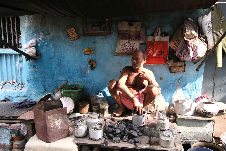 Kolkata - Calcutta   Indian street food   Chai shop   ©sandrine cohen