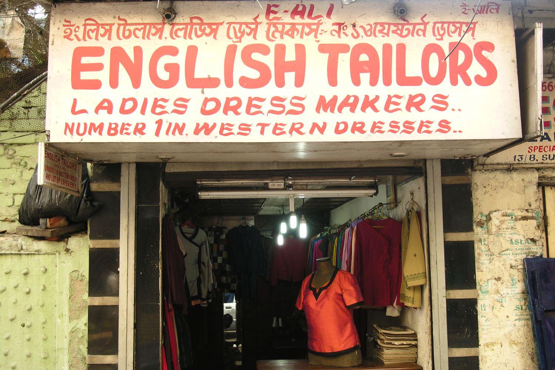 Kolkata - Calcutta   English tailor in Calcutta   ©sandrine cohen