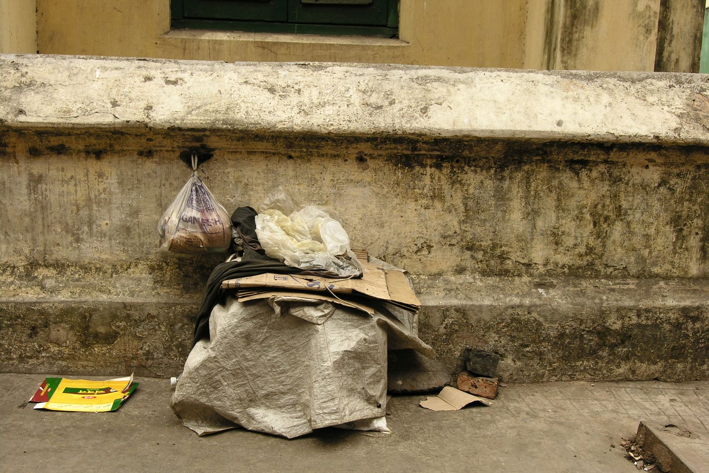 Kolkata - Calcutta   Homeless place   street of Calcutta   ©sandrine cohen