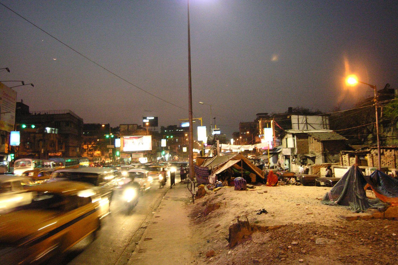 Kolkata - Calcutta   Slum Circle in Calcutta   ©sandrine cohen