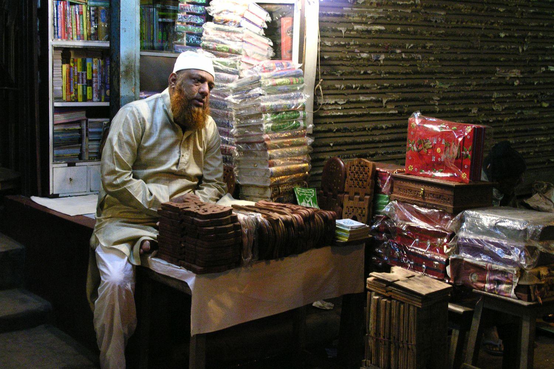 Kolkata - Calcutta   Muslim seller   ©sandrine cohen