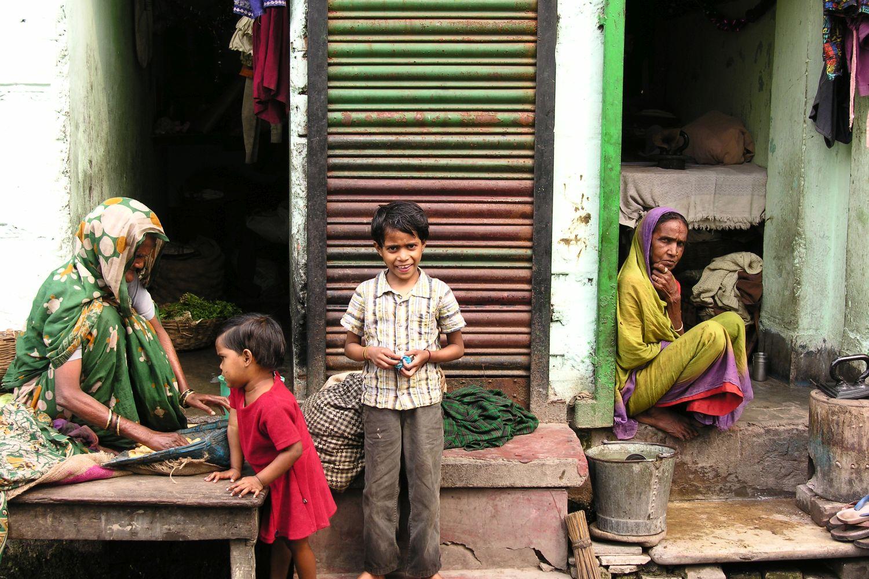 Kolkata - Calcutta   street children   ©sandrine cohen