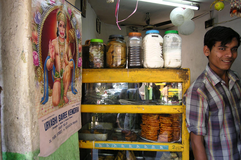 Kolkata - Calcutta   Indian street food   Food shop   ©sandrine cohen