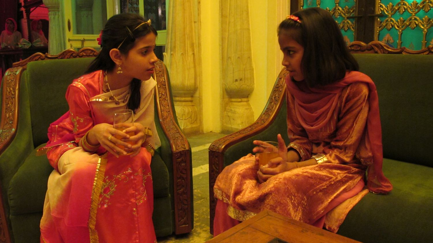 City palace of Jaipur | Royal family | Private party | Little princess | ©sandrine cohen