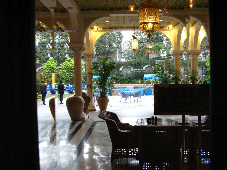 Taj Mahal Hotel Mumbai | Taj group | Swimming pool | ©sandrine cohen