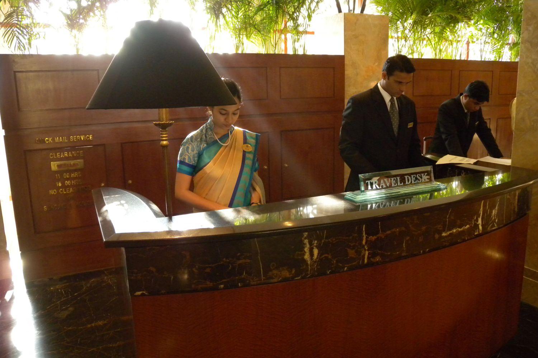Taj Mahal Hotel Mumbai | Reception | Taj group | ©sandrine cohen