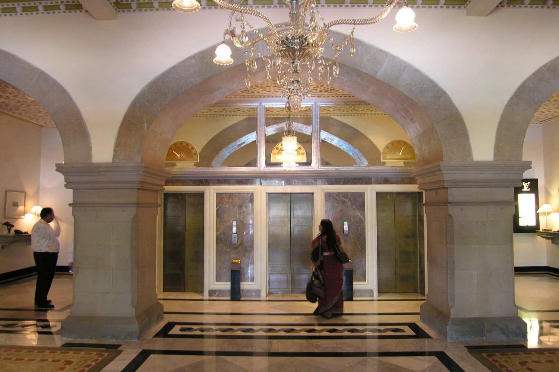 Taj Mahal Hotel Mumbai | Lift | Taj group | ©sandrine cohen
