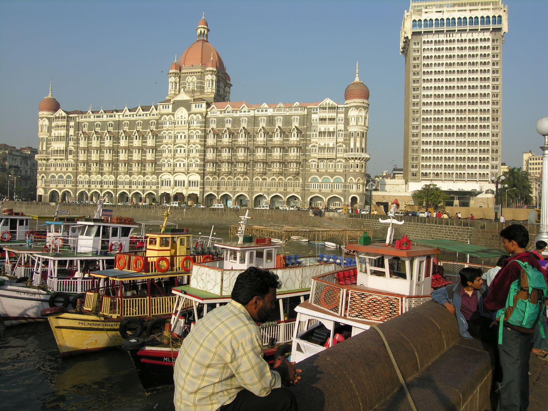 Taj Mahal Hotel Mumbai | Boats | Taj group | ©sandrine cohen