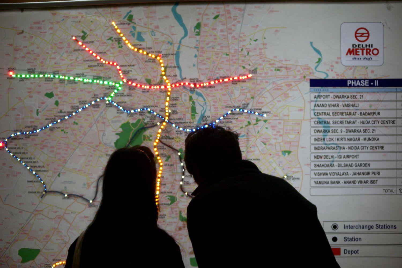 Delhi | Metro Delhi | India | Photo sandrine cohen