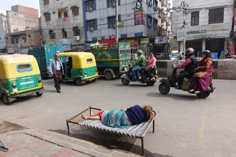 Delhi | Traffic in Delhi | ©sandrine cohen