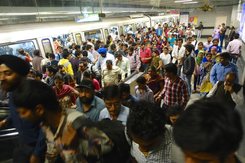 Delhi | Metro Delhi | ©sandrine cohen