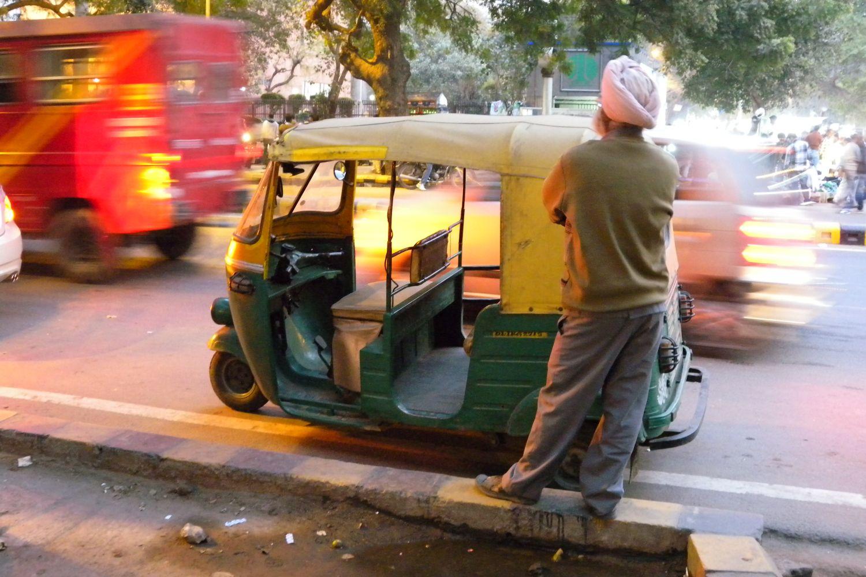 Delhi | Tuck tuck | Traffic in Delhi | ©sandrine cohen