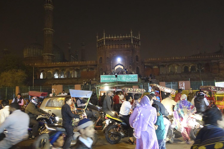 Old Delhi | Jama Masjid Mosque | Unesco world heritage | Chandni chowk | streetphotography ©sandrine cohen