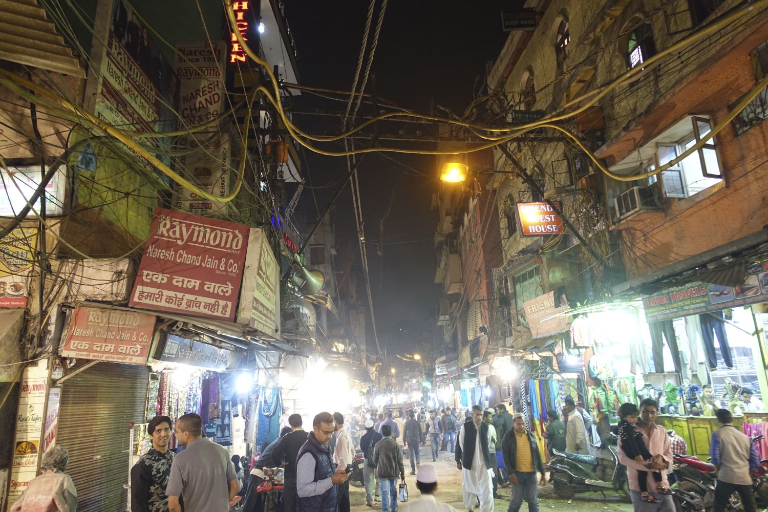 Old Delhi | Traffic at the evening | Chandni chowk |streetphotography ©sandrine cohen