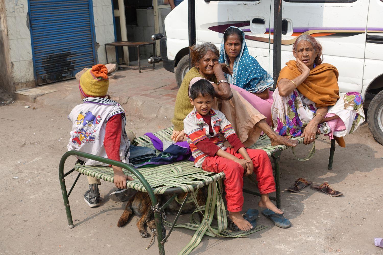 Delhi | people living in the street | ©sandrine cohen