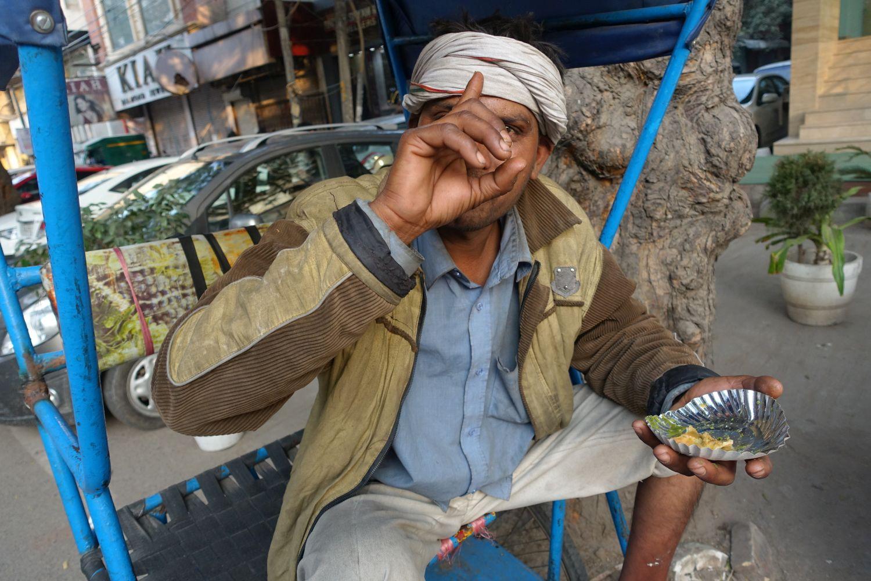Delhi | Rickshaw driver | ©sandrine cohen