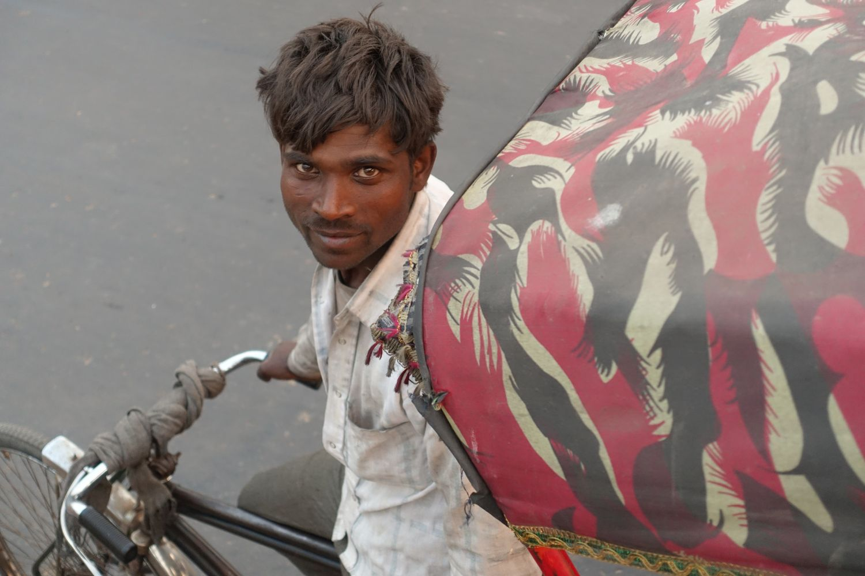 Old Delhi | Rickshaw driver | streetphotography ©sandrine cohen