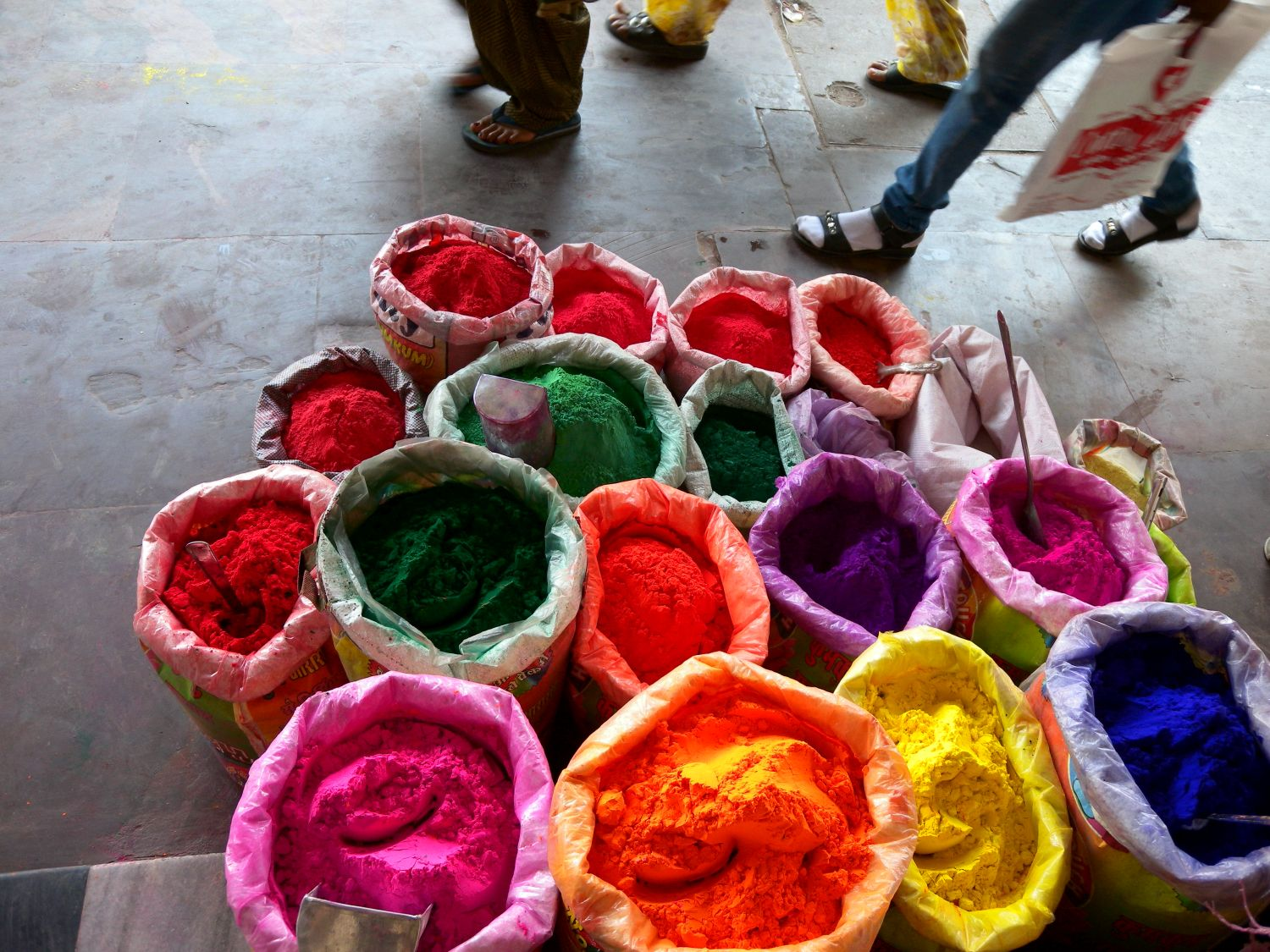 Jaipur | The Holi 1 | Feast of colors | Indian holiday | ©sandrine cohen