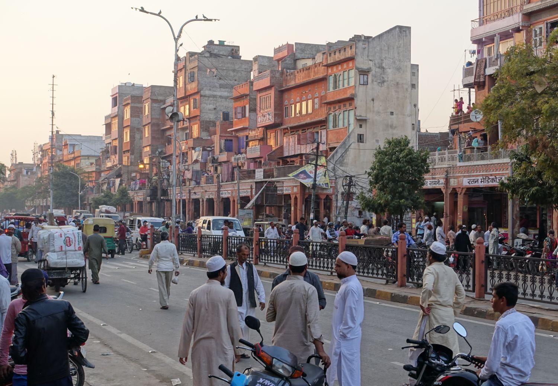 Jaipur | Pink city | Rajasthan | Muslim district in Jaipur |Sunrise | ©sandrine cohen