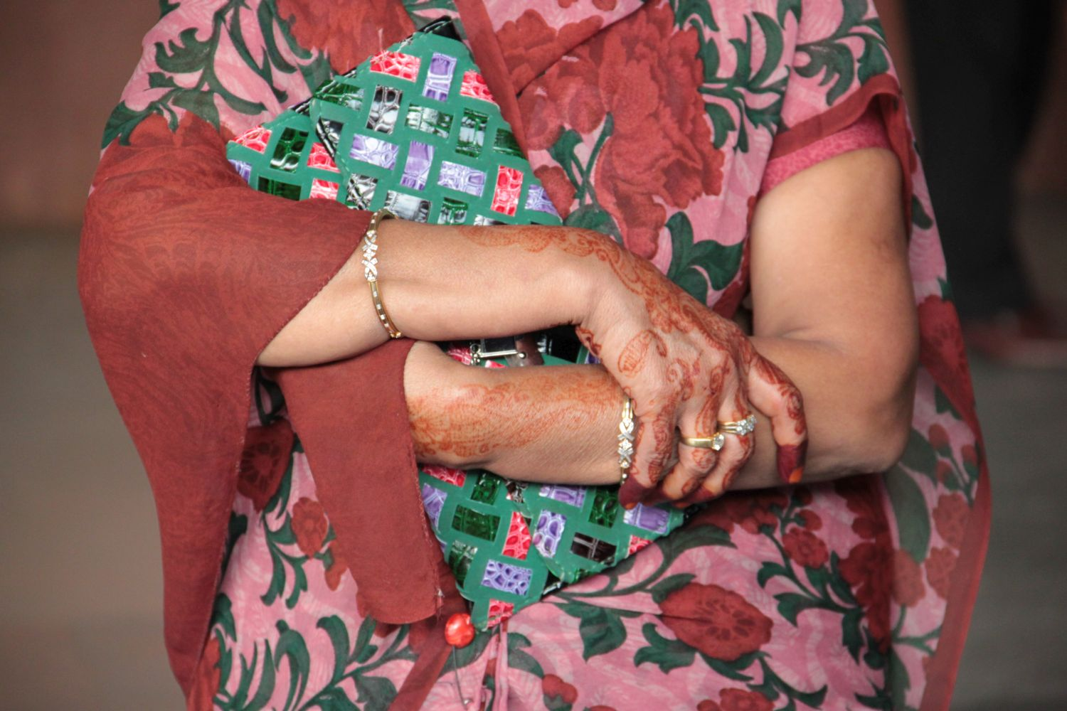 Jaipur | Rajasthan | Pink city | Indian woman with tattoos | Photo sandrine cohen