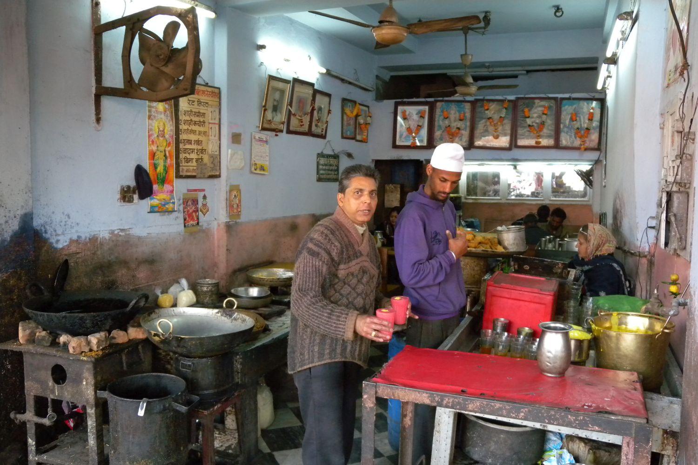 Jaipur | Rajasthan | Pink city | Restaurant and street food in Jaipur | Indian street food | ©sandrine cohen